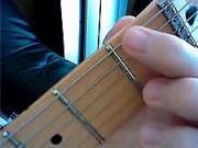 Kytarová škola 01 - cvičení LR- dohmat ukazováčkem LR
