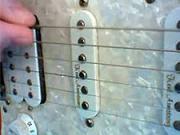 Kytarová škola 02 - cvičení PR - Brnknutí dolů