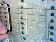 Kytarová škola 03 - cvičení PR - Brnknutí nahoru