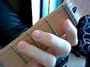 Kytarová škola 07 - cvičení LR- dohmat prsteníčkem LR