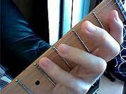 Kytarová škola 08 - cvičení LR- dohmat malíčkem LR