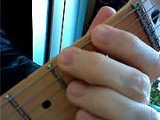 Kytarová škola 09 - cvičení LR- ukazováček a prostředníček LR