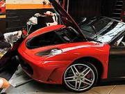 Ferrari F430 Spider - krycí fólie na auto