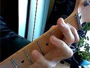 Kytarová škola 12 - cvičení LR- ukazováček a malíček LR