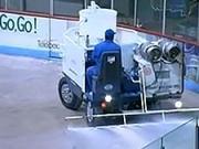 Příprava ledové plochy - Jak se dělá hokejová ledová plocha