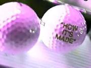 Golfové míčky - Jak se vyrábějí golfové míčky