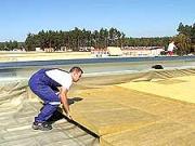Zateplení střechy - realizace zateplení ploché střechy