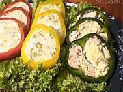 Plněná paprika - recept na papriku plněnou třemi nádivkami