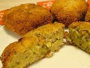 Brokolicové krokety - recept brokolicové karbanátky se sýrem