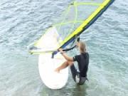 Plážový start -  jak se děla  plážovy start - Windsurfing