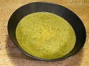 Brokolicová krémová polévka - recept na krémovou polévku s brokolicí - brokolicová  polévka