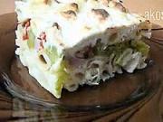 Zapékané těstoviny s brokolicí a plísňovým sýrem