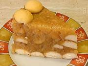 Nepečený jablečný dort - recept na jablečný koláč