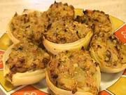 Pečená cibule plněna masem - recept na pečenou cibuli plněnou masem
