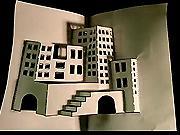 3D město z papíru - Jak vyrobit 3D město z papíru