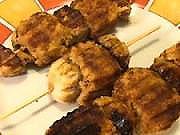 Sojové špízy - recept na sojové špizy se žampiňony