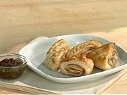 Fantastické chuťovky - recept na koláčiky z lístkového cesta so šunkou a slaninkou