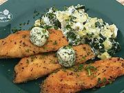 Křupavý Třeboňský kapr - recept na Třeboňskeho kapra s bramborovou kaší