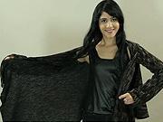 Svetr z deky - Jak z vlněné deky udělat svetr s dlouhými rukávy