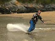 Jízda na snowboardu po vodě - Jak jezdit se snowboardem na vodě