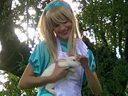 Kostým Alice ze země zázraků