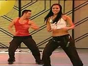 Tanec Zumba - část Salsa -Jak se tancuje Zumba - kubánsky krok
