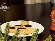 Linecké ořechové cukroví - recept na linecké cukroví