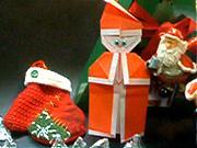 Jak vyrobit  papírového Santa Clause