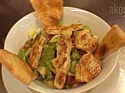 Kuřecí salát - recept na zeleninový salát s kuřecím masem