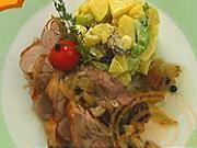 Pečená krůta na divokém koření - recept na pečenou krůtu na divokém koření s bramborovým salátem