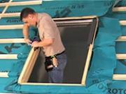 Jak namontovat střešní okno Fakro - typ PTP-V