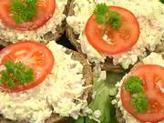 Sýrová pomazánka- recept na pomazánku se sýrem Cottage,pažitkou a jabkami