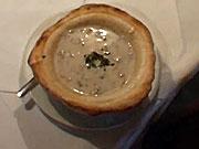 Žampionová krémová polévka - recept na hubovou polévku se žampiony