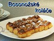 Bosonožské koláče - recept na Bosonožské koláče s tvarohem,povidlem,makem nebo ořechy
