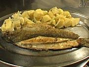 Pečený pstruh - recept na pečeného pstruha s bramborovým salátem