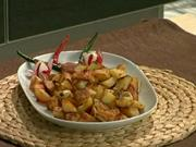 Brambory na rozmarýnu - recept na opekane brambory na rozmarýnu
