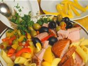 Salát z tuňáka - recept na tuňakový salát s těstovinami