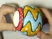 Netradiční velikonoční vajíčko