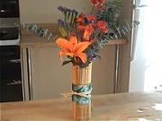 Sushi váza - jak vyrobit netradiční Sushi vázu