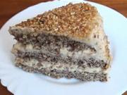 Ořechový dort - recept na dort s lískovými ořechy