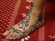 Zdobení  hennou