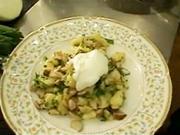 Bramborové tyčinky - recept na bramborové tyčinky na houbách s bylinkami.