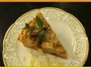 Jablečná paj - recept na jablečný koláč s rozinkami