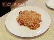 Špagety - recept na Spaghetti allla amatriciana