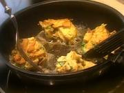 Hubove šišky - recept na šišky z hub se zakysenou smetanou a křenem.