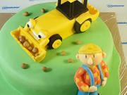 Borek stavitel - jak vyzdobit dort