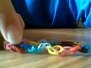 Náramek z gumiček - Jak si udělat z gumiček náramek