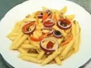 těstoviny s tuňákem - těstoviny na thajsky spůsob - těstoviny  s lososem - těstoviny al pesto