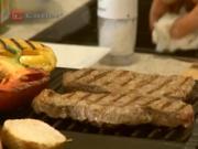 Grilovaný Rumpsteak s paprikou - recept na  grilovaný hovězí steak