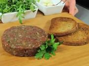 Tatarák - recept na tatársky biftek